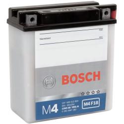 Аккумулятор Bosch M4 12V 5Ah 30A 121x61x131 о.п. (-+) 0092M4F180