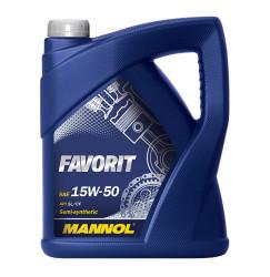 Моторное масло Mannol Favorit 15W-50 (4 л.) 4032