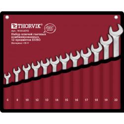 Набор ключей Thorvik 6-22 мм., 12 предметов W3S12ETB