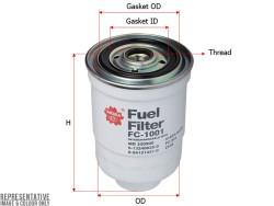 Фильтр топливный Sakura FC1001