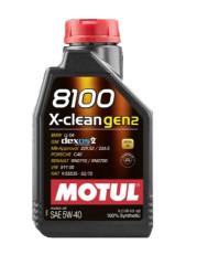 Моторное масло Motul 8100 X-Clean gen2 5W-40 (1 л.) 109761
