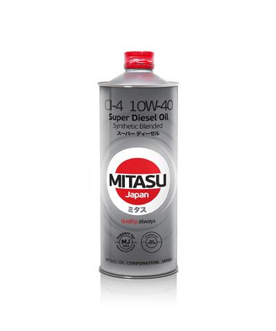 Моторное масло Mitasu MJ-222 Super Diesel CI-4 10W-40 (1 л.) MJ2221