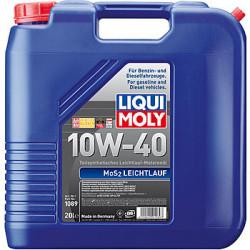 Моторное масло Liqui Moly MoS2 Leichtlauf 10W-40 (20 л.) 1089