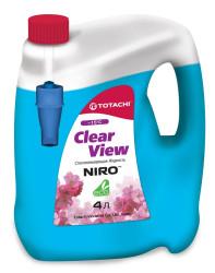 Стеклоомывающая жидкость Totachi Niro Clear View -15°C (4 л.) 4589904921919