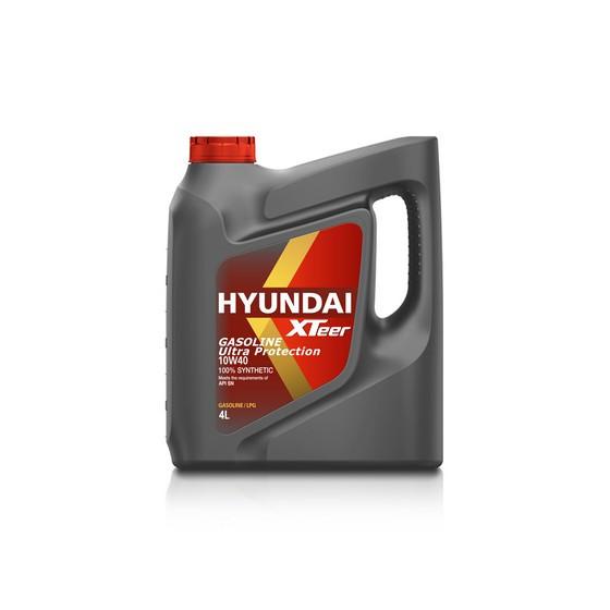 Моторное масло Hyundai (Kia) Xteer Gasoline Ultra Protection 10W-40 (4 л.) 1041019