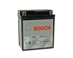 Аккумулятор Bosch M6 12V 6Ah 50A 0092M60060