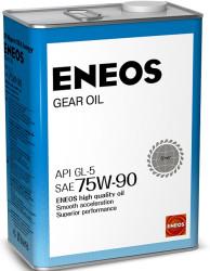 Трансмиссионное масло Eneos Gear 75W-90 GL-5 (4 л.) Oil1370