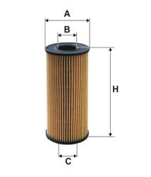 Фильтр масляный Filtron OE6662