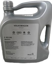 Моторное масло Volkswagen (VAG) Special G 5W-40 (5 л.) G052502M4