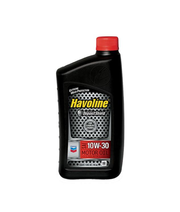 Моторное масло Chevron Havoline Motor Oil 10W-30 (1 л.) 076568796303