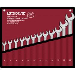 Набор ключей Thorvik 6-22 мм., 12 предметов W3S12TB