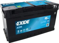 Аккумулятор Exide EK950 95Ah 850A 353x175x190 о.п. (-+) Start-Stop AGM