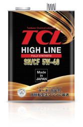 Моторное масло TCL High Line 5W-40 (4 л.) H0040540