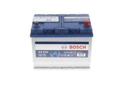 Аккумулятор Bosch S4 12V 72Ah 760A 261x175x220 о.п. (-+) 0092S4E410