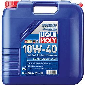 Моторное масло Liqui Moly Super Leichtlauf 10W-40 (20 л.) 1304
