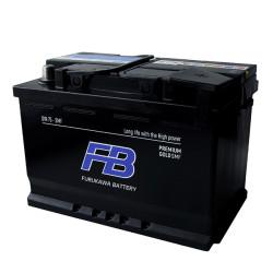 Аккумулятор Furukawa Battery Premium Gold SMF 75Ah 680A 278x175x190 о.п. (-+) LN3DIN75