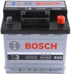 Аккумулятор Bosch S3 45Ah 400A 207x175x190 о.п. (-+)