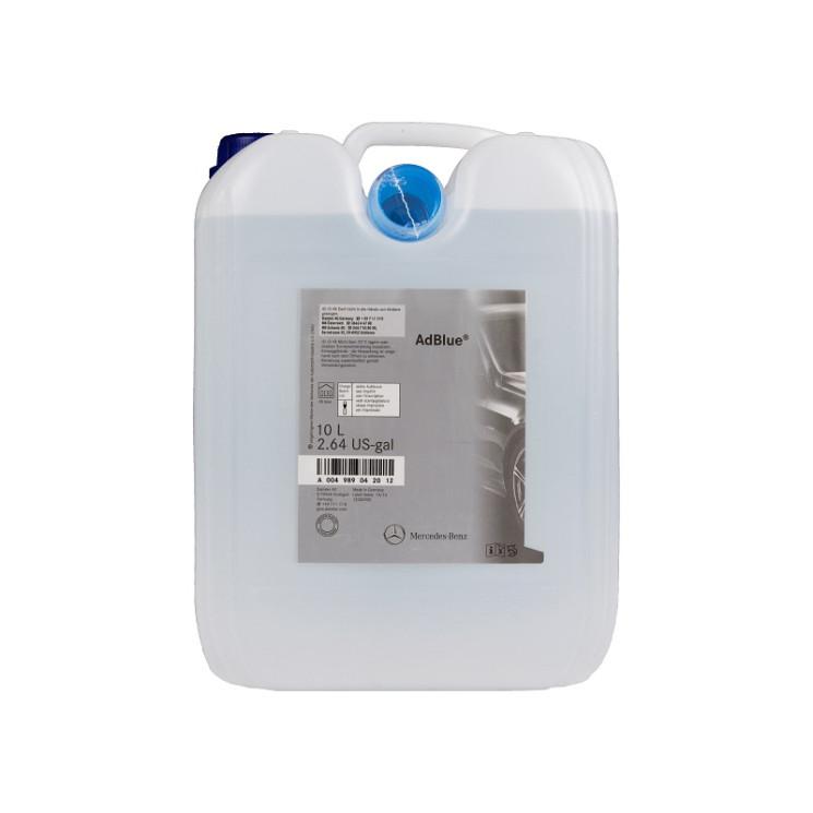 Mercedes AdBlue Водный раствор мочевины (10 л.) A004989042012