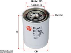 Фильтр топливный Sakura FC1003