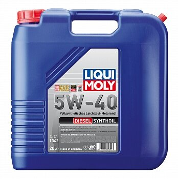 Моторное масло Liqui Moly Diesel SynthOil 5W-40 (20 л.) 1342