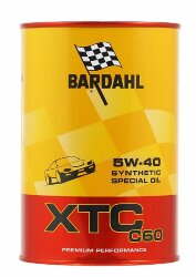 Моторное масло Bardahl XTC C60 5W-40 (1 л.) 334040