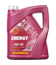 Моторное масло Mannol 7511 Energy 5W-30 (5 л.) 75115