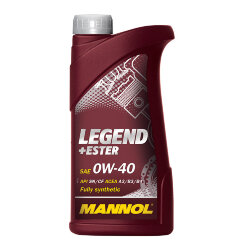 Моторное масло Mannol Legend + Ester 0W-40 (1 л.) 1000