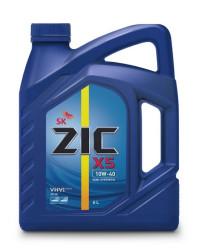 Моторное масло ZIC X5 10W-40 (6 л.) 172622