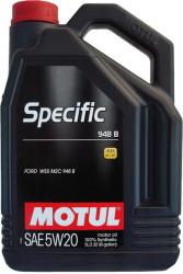 Моторное масло Motul Specific 948B 5W-20 (5 л.) 106352
