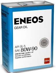 Трансмиссионное масло Eneos Gear 80W-90 GL-5 (4 л.) Oil1376