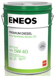 Моторное масло Eneos Premium Diesel 5W-40 CI-4 (20 л.) 8809478942827