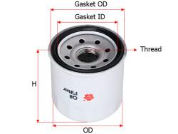 Фильтр масляный Sakura C9002