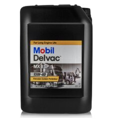 Моторное масло Mobil Delvac MX ESP 15W-40 (20 л.) 153851