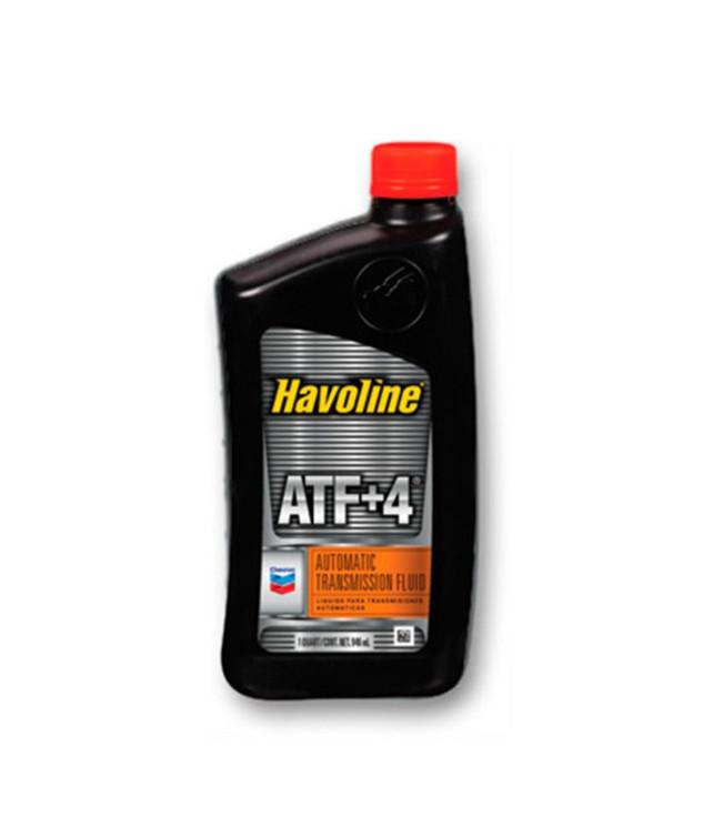 Трансмиссионное масло Chevron Havoline ATF+4 (1 л.) 076568796174