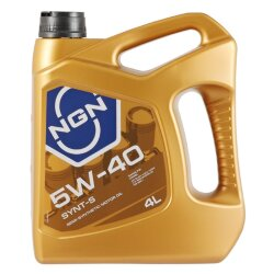 Моторное масло NGN Synt-S 5W-40 (4 л.) V172085305