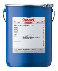 Минеральная смазка Meguin Fließfett L00 (5 кг.) 4690
