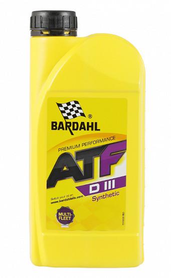 Трансмиссионное масло Bardahl ATF Dexron III (1 л.) 36281