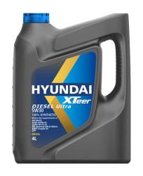 Моторное масло Hyundai (Kia) Xteer Diesel Ultra 5W-40 (4 л.) 1041223