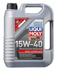 Моторное масло Liqui Moly MoS2 Leichtlauf 15W-40 (5 л.) 1933