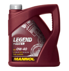 Моторное масло Mannol Legend + Ester 0W-40 (4 л.) 1001
