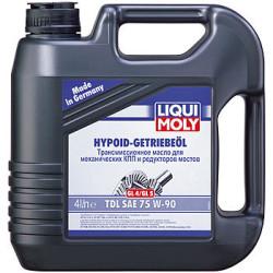 Трансмиссионное масло Liqui Moly Hypoid-Getriebeoil TDL 75W-90 (4 л.) 3939