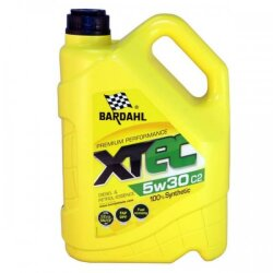 Моторное масло Bardahl XTEC 5W-30 C2 (4 л.) 36532