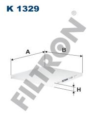 Фильтр салона Filtron K1329