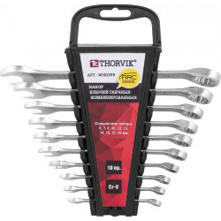 Набор ключей Thorvik 6-19 мм., 10 предметов W3S10PR