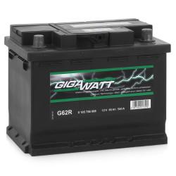 Аккумулятор Gigawatt 0185756008 60Ah 540A 242x175x190 о.п. (-+) (ETN 560408054 G62R)