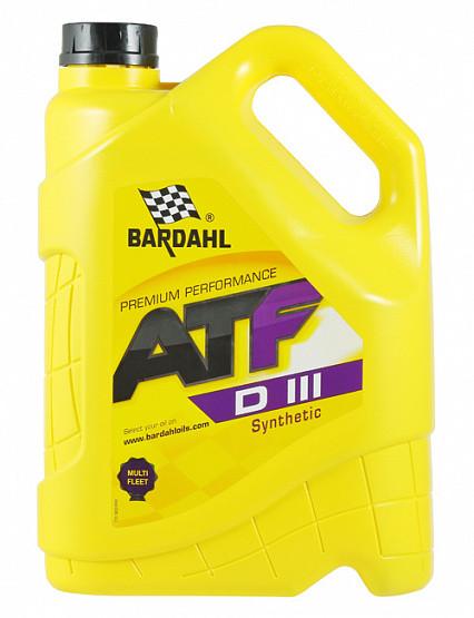 Трансмиссионное масло Bardahl ATF Dexron III (5 л.) 36283