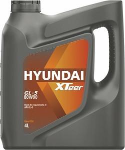 Трансмиссионное масло Hyundai (Kia) Xteer Gear Oil GL-5 80W-90 (4 л.) 1041422