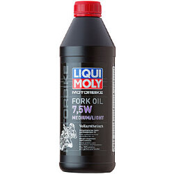 Масло Liqui Moly Motorbike Fork Oil Medium/Light 7,5W (1 л.) 2719