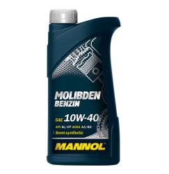 Моторное масло Mannol Molibden Benzin 10W-40 (1 л.) 1120
