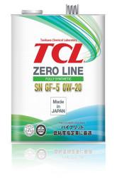 Моторное масло TCL Zero Line 0W-20 (4 л.) Z0040020